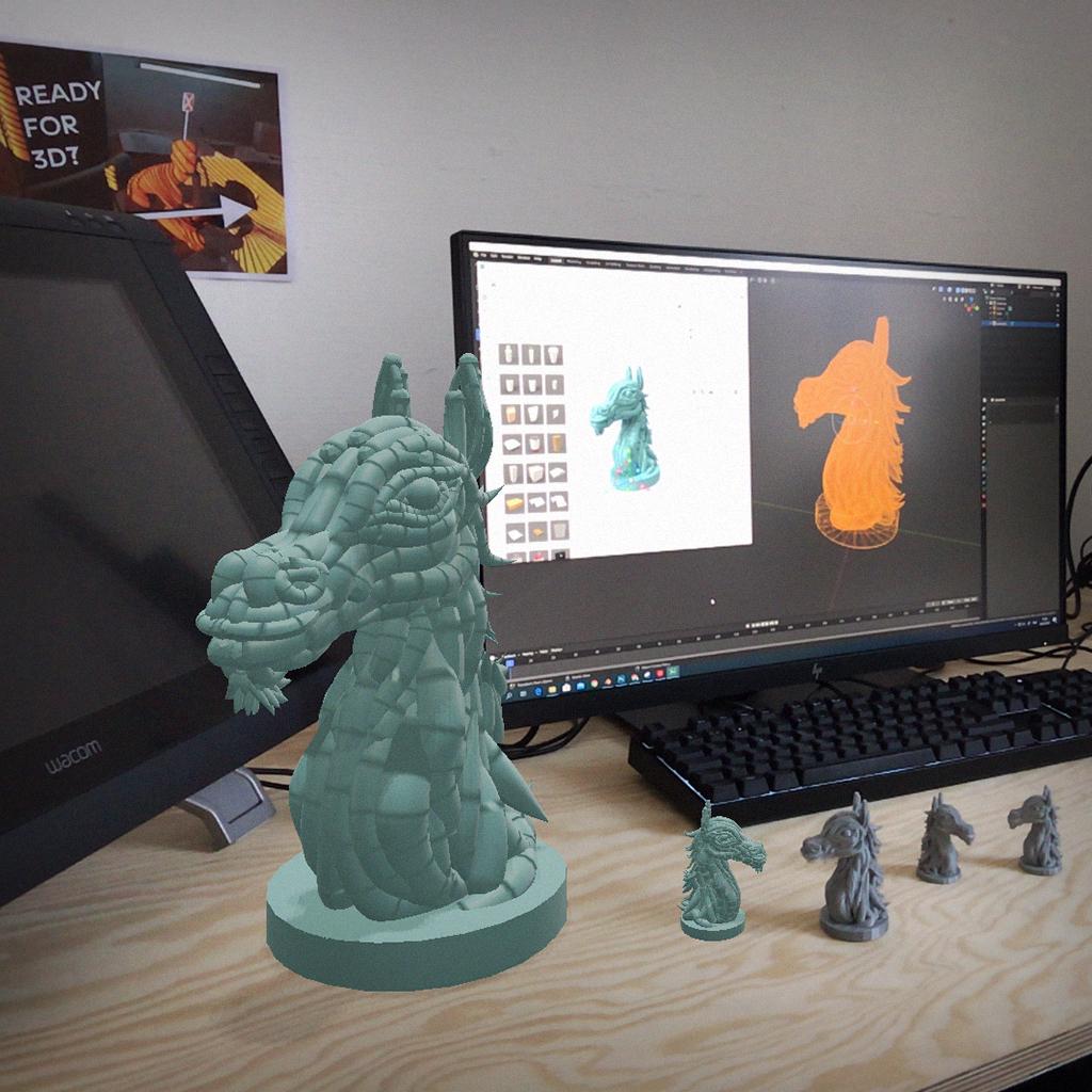 VR-beeldhouwen en materialiseren